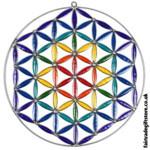 Fair Trade Suncatcher - Flower of Life