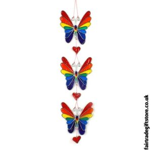 Fair Trade Suncatcher - String of Butterflies