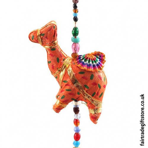 Fair-Trade-Dangley-String-of-Camels-with-Bell-Camel-Detail