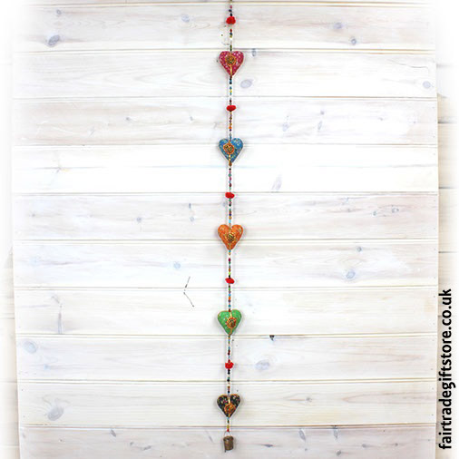 Fair-Trade-Dangley-String-of-Hearts-with-Bell-Hanging