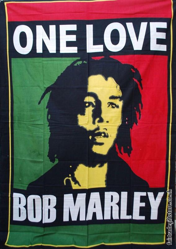 Fair-Trade-Cotton-Throw-Bob-Marley-One-Love