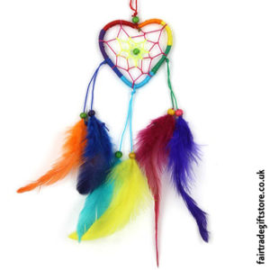 Fair-Trade-Dreamcatcher-Rainbow-Heart-Nylon