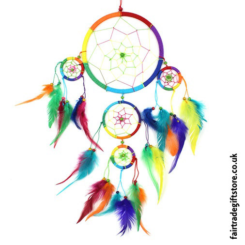 Fair-Trade-Dreamcatcher-Rainbow-Large-Five-Ring