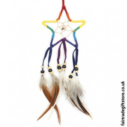 Fair-Trade-Dreamcatcher-Rainbow-Star