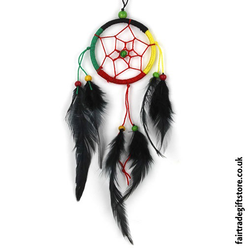 Fair-Trade-Dreamcatcher-Rasta-Small-Round