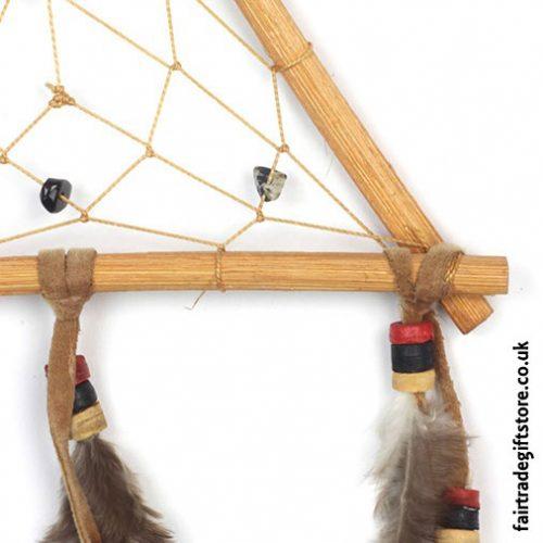Fair-Trade-Dreamcatcher-Rattan-Triangle-close-up