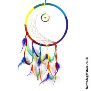Fair-Trade-Dreamcatcher-XLarge-Round-Rainbow-Crescent-Moon