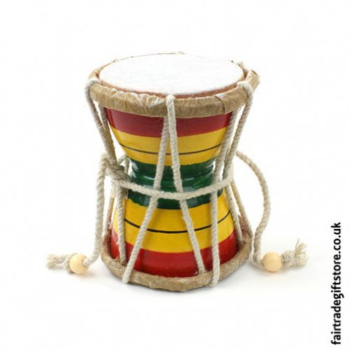 Fair-Trade-Hand-Drum-Damru-Drum-upright