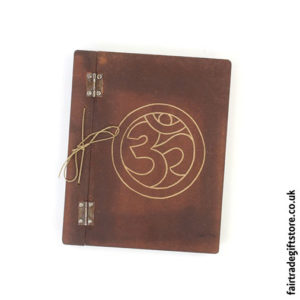 Fair-Trade-Hardback-Notebook-Om