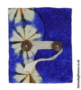 Fair-Trade-Lokta-Paper-Notebook-Tie-Dye-Blue