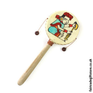 Fair-Trade-Mayan-Print-Hand-Drum