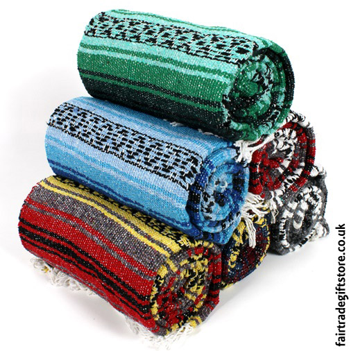 Fair-Trade-Mexican-Falsa-Rug-Stack