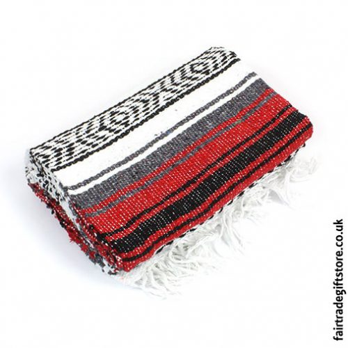 Fair-Trade-Mexican-Falsa-Rug-blanket-Red
