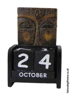 Fair-Trade-Wooden-Calendar-Buddha-Eyes