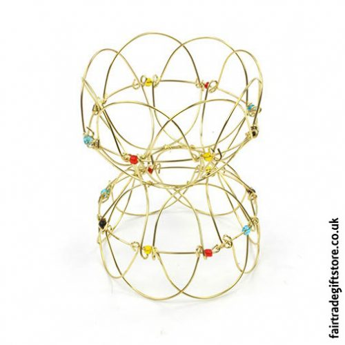 Fair-Trade-Folding-Wire-Mandala-Puzzle-Shape-Example