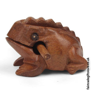 Fair-Trade-Güiro-Croaking-Wooden-Frog-Mini