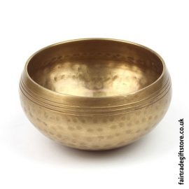 Fair-trade-Hand-Beaten-Brass-Mountain-Singing-Bowl-Medium