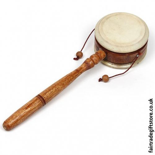 Fair-Trade-Plain-Wooden-Hand-Drum
