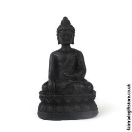 Fair Trade Resin Buddha Statue Charm - Small