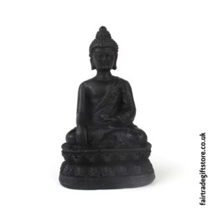 Fair Trade Resin Buddha Statue Charm - Small