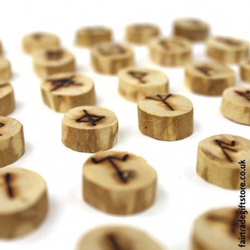Fair Trade Runes - Anglo Saxon - Close up