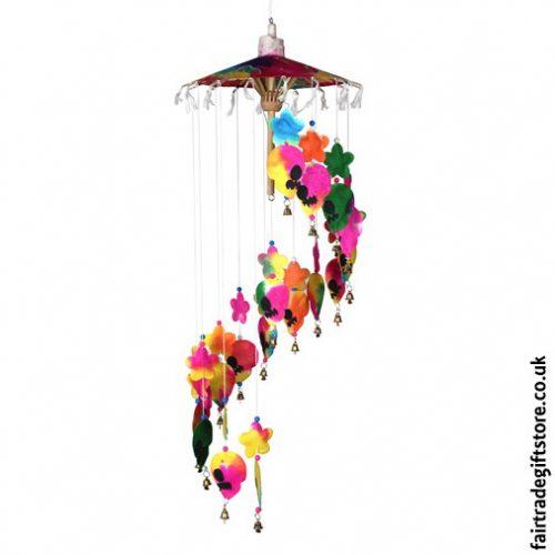 Fair-Trade-Saa-Paper-Mobile-with-Bells-Multicolour-Skulls