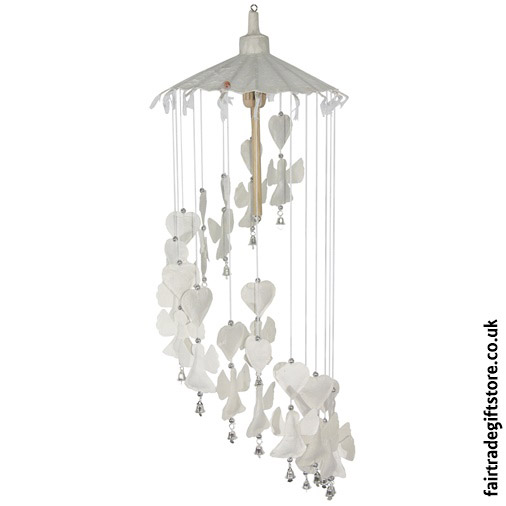 Fair-Trade-Saa-Paper-Mobile-with-Bells-White-Angels
