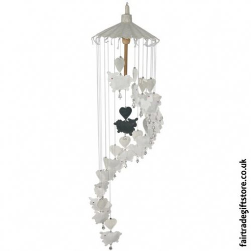 Fair-Trade-Saa-Paper-Mobile-with-Bells-White-Sheep