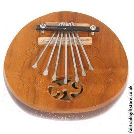 Fair-Trade-Thumb-Piano-Carved-Lizard-Coconut
