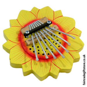Fair-Trade-Thumb-Piano-Yellow-Sunflower