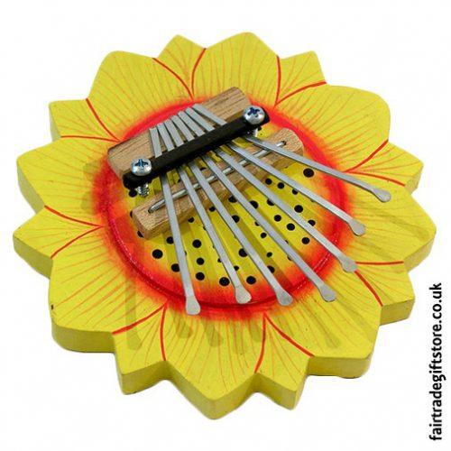 Fair-Trade-Thumb-Piano-Yellow-Sunflower