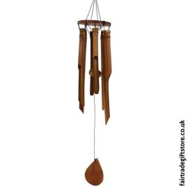 Fair Trade Windchime - Bamboo Medium
