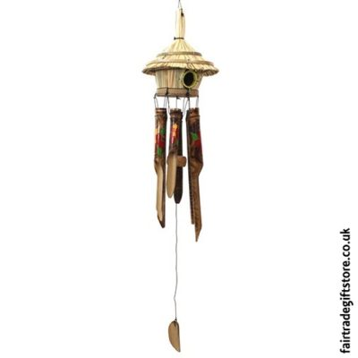 Fair Trade Windchimes and The Best Paces To Hang Them - Tiki Hut WIndchie