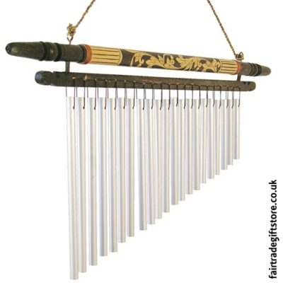 Fair Trade Windchimes and The Best Paces To Hang Them - Carved Wood & Metal