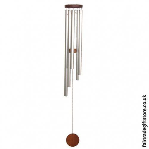 Fair Trade Windchime - Metal & Wood - Medium