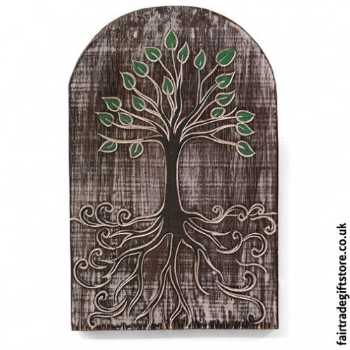 Fair-Trade-Wooden-Wall-Plaque-Tree-of-Life