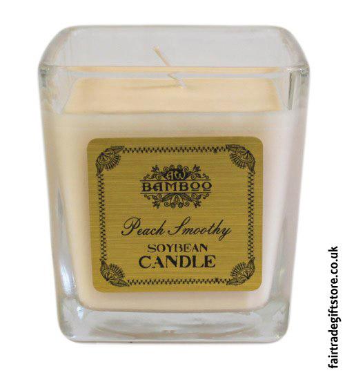 Fair-Trade-Soy-Wax-Candle-Peach-Smoothy