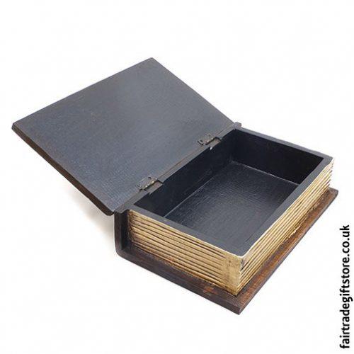 Fair-Trade-Wooden-Trinket-Box-Skull-Book-open