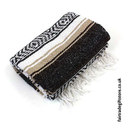 Fair-Trade-Mexican-Falsa-Rug-blanket-Beige