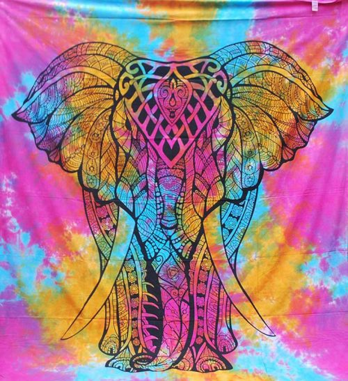 Tie-Dye-Elephant-Throw