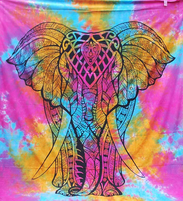 Tie-Dye-Elephant-Throw