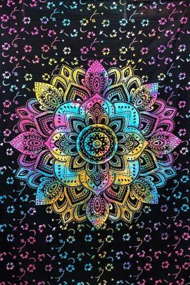Tie-Dye-Mandala-Throw