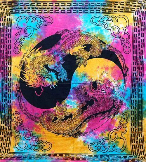 Tie-Dye-Yin-Yang-Dragon-Throw