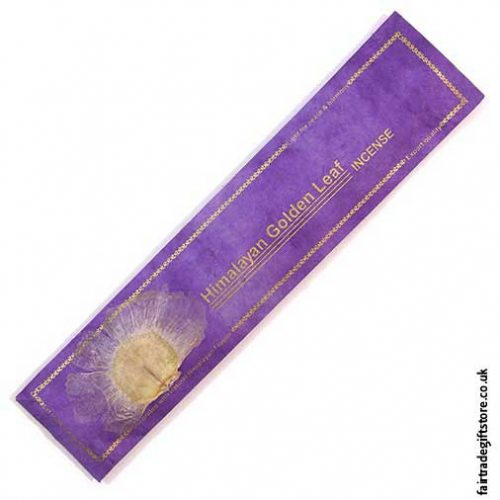 Fair-Trade-Bamboo-Rolled-Incense-Himalayan-Gold-Leaf