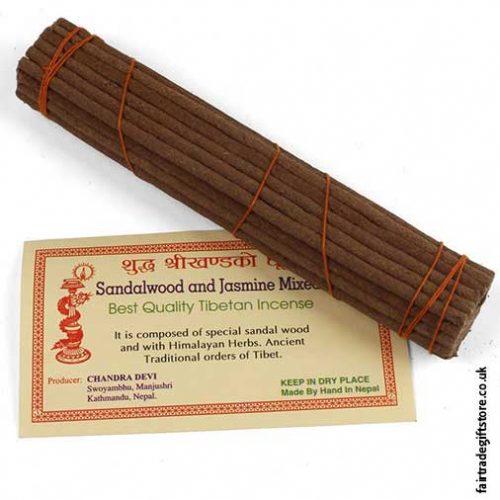 Fair-Trade-Tibetan-Incense-Sticks-Sandalwood-&-Jasmine-Unwrapped