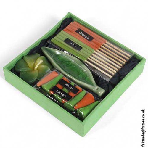 Fair-Trade-Incense-Gift-Set---Orange-&-Lemon