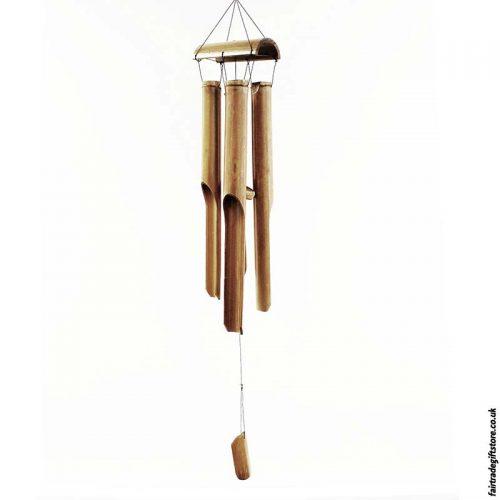 Fairtrade-Bamboo-Windchime-Four-Tube
