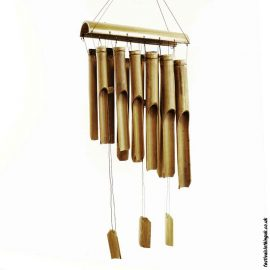 Fairtrade-Bamboo-Windchime-Twelve-Tube