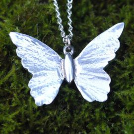 Handmade-Pewter-Butterfly-Necklace