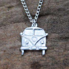 Handmade-Pewter-Camper-Van-Necklace
